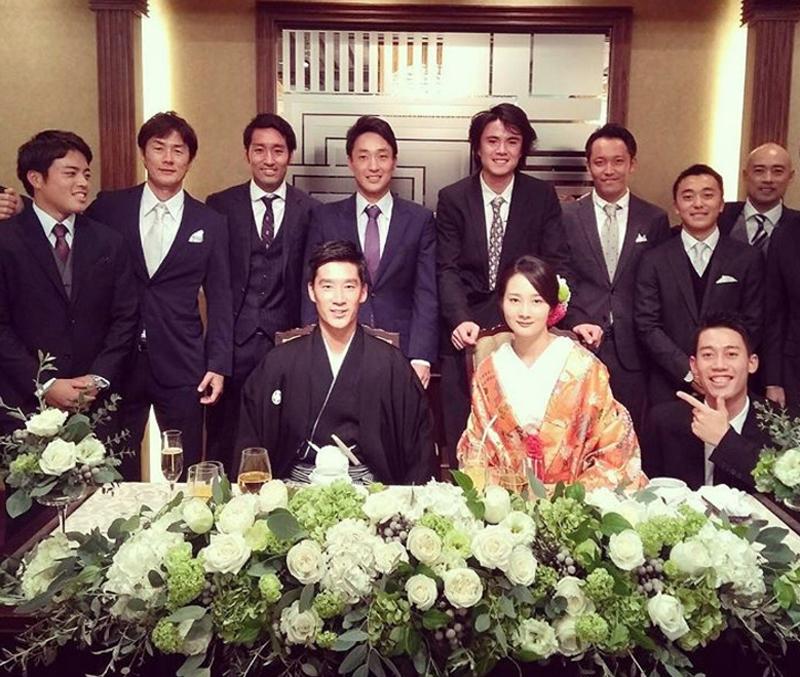杉田 結婚