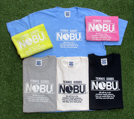 永遠の定番デザイン「NOBU LOGO MODEL」【NOBU TENNIS BLOG】