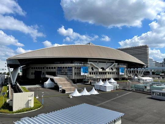 国際テニス連盟が有明のコートを公開【NOBU TENNIS BLOG】
